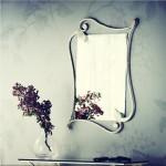 Cosatto Specchio ELEONORA bianco anticato oro